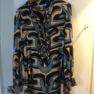 classic Diane vonFurstenberg dress